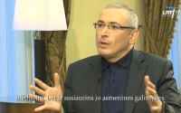 Интервью Михаила Ходорковского литовскому телеканалу LRT