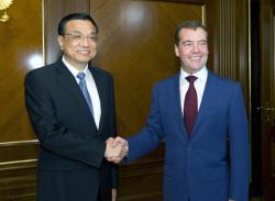 Ли Кэцян и Медведев