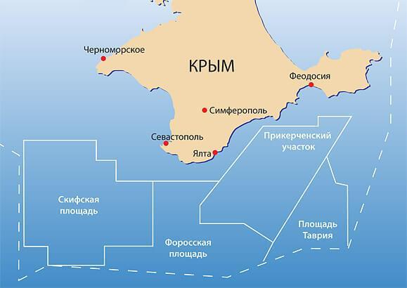 крымский шельф