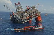 аварии нефтяная платформа