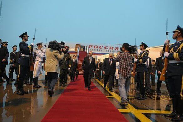 Путин визит в Китай