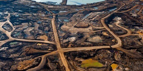 Нефтяные пески канада
