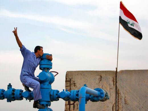 нефть ирак